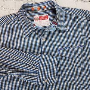 Freshly Laundered Robert Graham Striped Shirt